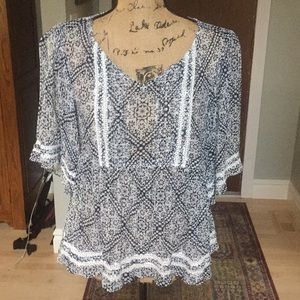 New Without Tag Sundance Sm Multi Color Top